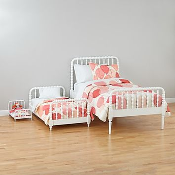 Jenny Lind White Bed