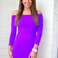 The Softest Dress: Neon Purple | Hope's