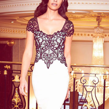Sexy Crochet Lace Bodycon Backless Dress