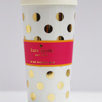 Gold Dot Thermal Mug: Kate Spade