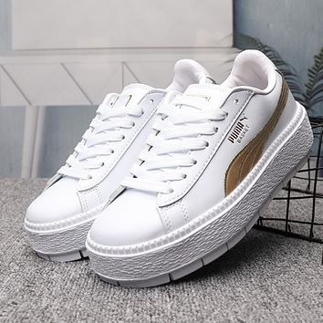 0ceb2b8ed PUMA Platform trace Woman Men Fashion Sneakers Sport Shoes