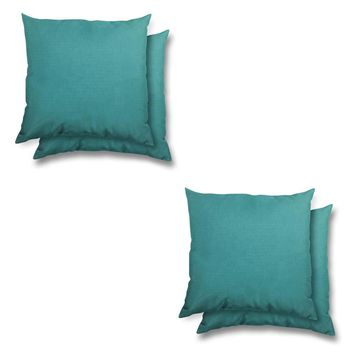 Stratford Home Indoor/ Outdoor Sunbrella Pillows Set (Aruba)