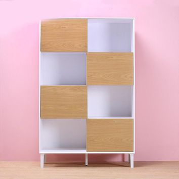 Creative 68.8'' Storage Exhibition Cabinet