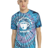 None Of My Business Tie Dye T-Shirt