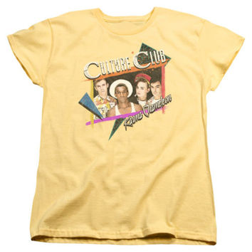Culture Club Karma Chameleon Womens T-Shirt