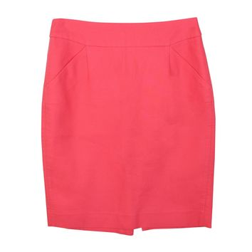 Pencil Skirt in Double Serge Cotton