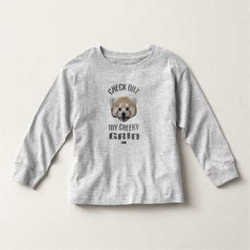 Cheeky Grin Toddler Design by Kat Worth Toddler T-shirt