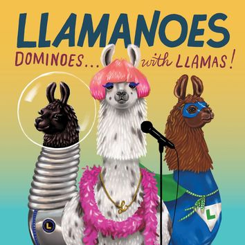 Llamanoes: Dominoes . . . with Llamas! Game