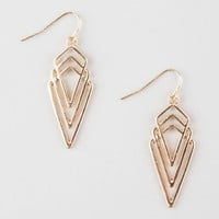 Full Tilt Geo Boho Earrings Gold One Size For Women 26589962101