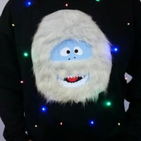 UGLY CHRISTMAS SWEATER - The Abominable Snow Monster!