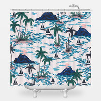 Swiss Family Robinson Shower Curtain