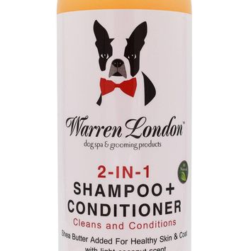 2-in-1 Dog Shampoo + Conditioner - All Natural - Coconut Scented