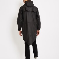 Rains Parka Coat Black