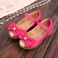 Children Korean Princess Shoes [4919278660]