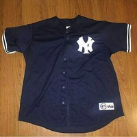 Vintage New York Yankees Jason Giambi Jersey Size XL sold by Deadstock Dynasty