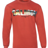 Men's King Salmon L/S UV Fishing T-Shirt