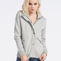 SEBBY Quilted Fleece Womens Jacket 244157595 | Jackets
