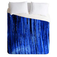 Sophia Buddenhagen Bright Blue Duvet Cover