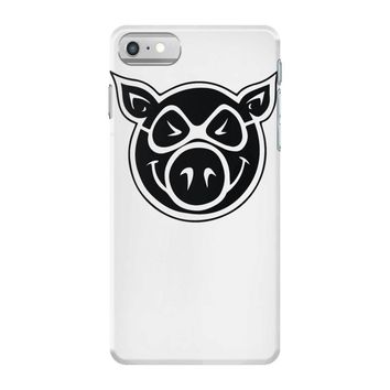 pig wheels iPhone 7 Case