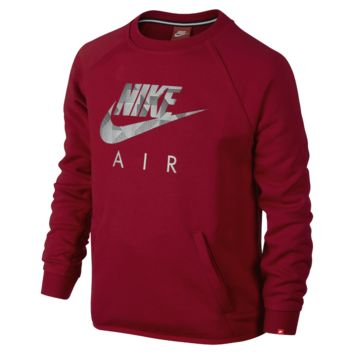 Nike French Terry Flash Crew Boys' Sweatshirt