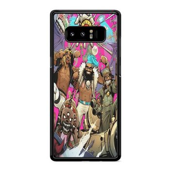 Flatbush Zombies Comic Space Adventure Samsung Galaxy Note 8 Case