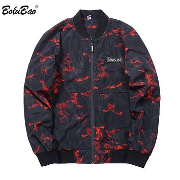 Men Bomber Jacket Autumn Spring Fashion Casual Coats windbreaker Hooded Camouflage Jacket
