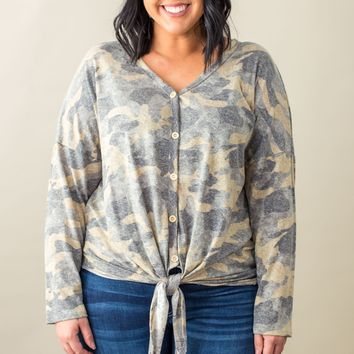 Curves-Crushing On Camo Twist Knot