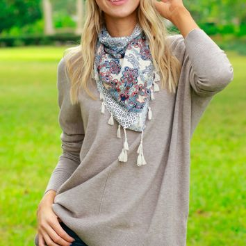 The Classics Round Neck Sweater Mocha