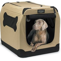 Dog Crate Indoor/Outdoor Pet Portable Washable Kennel Travel Camp Large Training