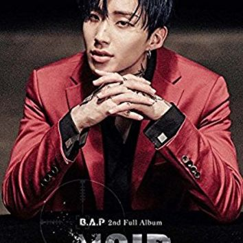 BAP B.A.P - NOIR (Vol.2) [Limited Edition Jongup ver.] CD with Folded Poster Extra Gift Photocard Set