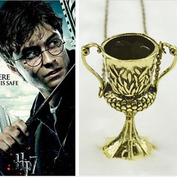 Harry Potter Horcrux Conversion Helga Hufflepuff Cup Necklace