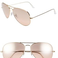 Women's Ray-Ban 'Large Original Aviator' 62mm Sunglasses