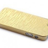 Chrome Plated Hard Case Cover for Apple Iphone 5 5g Gen Gold