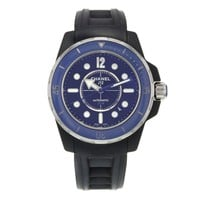 Chanel J12 Marine H2561 Black Ceramic Automatic Ladies Watch