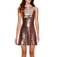 Speechless® Sleeveless Sequin A-Line Dress