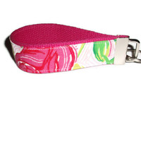 Delta Zeta Wristlet Key Chain by xoribbons on Etsy