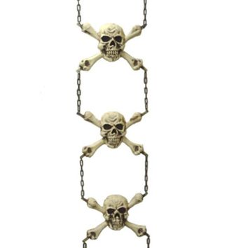 "56"" Gruesome Skeleton Chain Hanging Halloween Decoration #65858"
