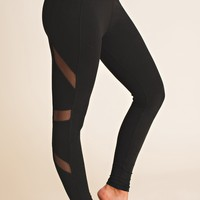Found You Finally Mesh Leggings (Black)