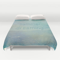 Summer Dreaming Duvet Cover by Shawn King