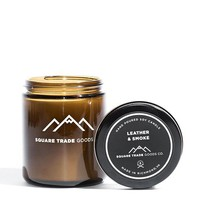 Leather & Smoke Candle