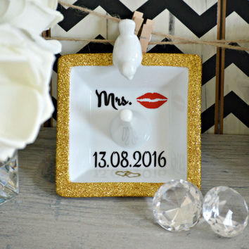 Bride to Be Ring Dish / Bird Ring Holder