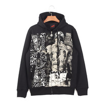 Hip-hop Style Print Thicken Hoodies [6541451395]
