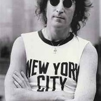 College Student Essential John Lennon NYC Poster
