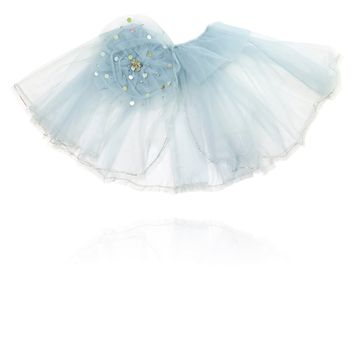 [ PRE ORDER *] DOLLY by Le Petit Tom ® True Ballerina cape light blue