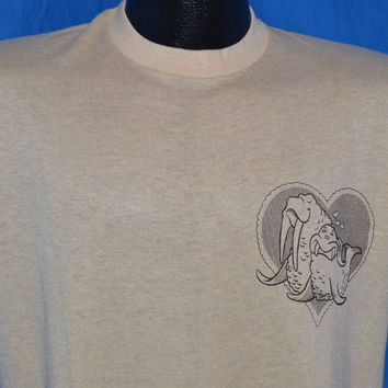 80s Walrus Love Ode to an Oosik Funny t-shirt Medium