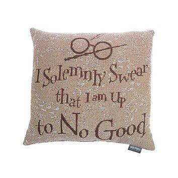 Harry Potter Solemnly Swear Tapestry Pillow