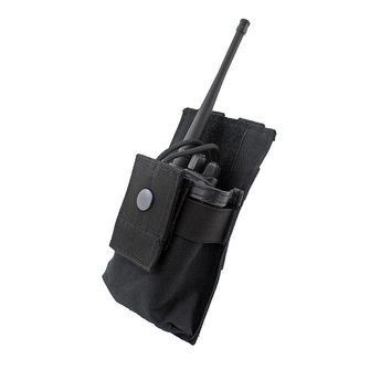Tactical Walkie Talkie Holster Adjustable MOLLE Radio Holder Open Top M4 Mag Pouch Tactical Bag