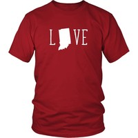 State T Shirt - Indiana Love