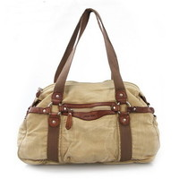 City cruiser washed canvas travel bags shoulder handbags from Vintage rugged canvas bags