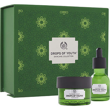 The Body Shop Online Only Drops of Youth Skincare Collection